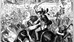Peterloo Massacre by Hablot Knight Browne