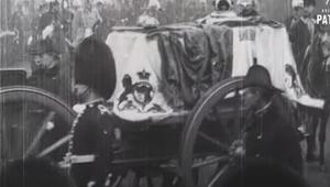 Queen Victoria\'s funeral procession.