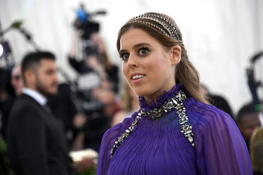 Princess Beatrice of York attends the Heavenly Bodies: Fashion & The Catholic Imagination Costume Institute Gala at The Metropolitan Museum of Art on May 7, 2018 in New York City.