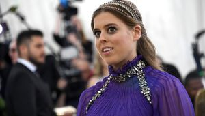 Princess Beatrice of York attends the Heavenly Bodies: Fashion & The Catholic Imagination Costume Institute Gala at The Metropolitan Museum of Art on May 7, 2018 in New York City