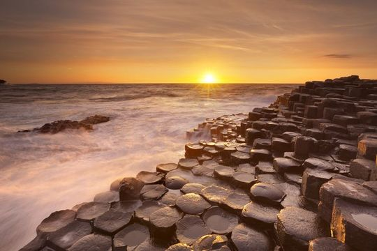 The Giant\'s Causeway, in Northern Ireland.