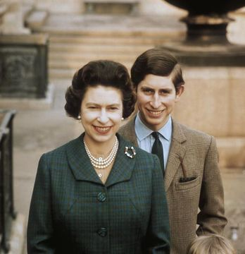 Queen Elizabeth and Prince Charles