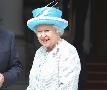 Queen Elizabeth II delivering her Christmas speech, in 2019.