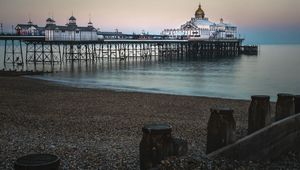 Eastbourne Pier, in East Sussex.
