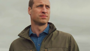 "A promo shot of Prince William for the documentary series ""A Planet For Us All\""."