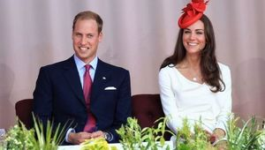 Kate and William in Canada.