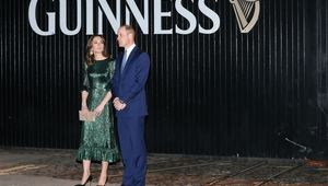The Duchess and Duke of Cambridge, Kate Middleton and Prince William, photographed in March 2019 at the Guinness Storehouse, in Dublin.