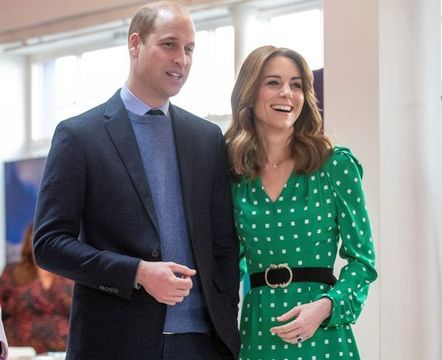 Kate and William.