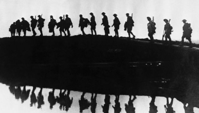 Armistice Day: During WWI 5,711,696 soldiers and 3,674,757 civilians were killed. Today we remember.