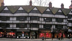 Staple Inn, on Chancery Lane, London.