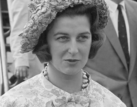 Princess Alexandra, photographed in 1961.