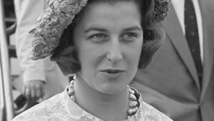 Princess Alexandra, photographed in 1961.