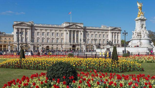 Buckingham Palace, London.