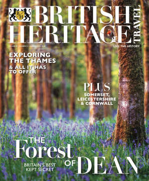Ready to jump in to spring? British Heritage Travel\'s March / April 2020 is full of inspiration and history.