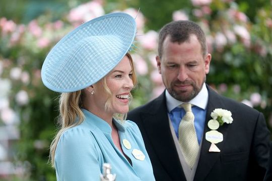 Peter Phillips and Autumn Phillips attends day five of Royal Ascot at Ascot Racecourse on June 22, 2019 in Ascot, England. (Photo by Chris Jackson/Getty Images)