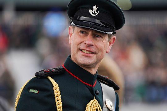 Queen Elizabeth\'s youngest son, Prince Edward.