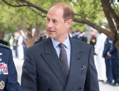 Queen Elizabeth\'s youngest son, Prince Edward.