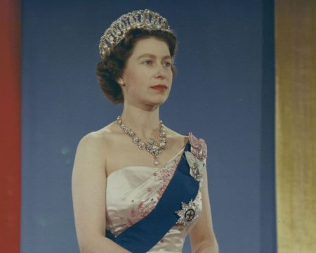 Queen Elizabeth II: A portrait painted during her 1959 tour to Canada.