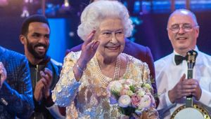 Queen Elizabeth II celebrating her birthday in 2018.