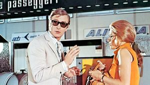 Michael Caine in The Italian Job.