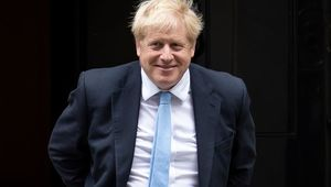 British Prime Minister Boris Johnson has covid-19