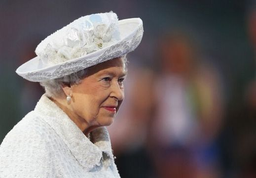 Queen Elizabeth II, Patron of the CGF attends the Opening Ceremony for the Glasgow 2014 Commonwealth Games at Celtic Park on July 23, 2014 in Glasgow, Scotland. (Photo by Chris Jackson/Getty Images)