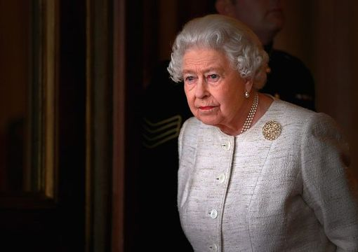 Queen Elizabeth II prepares to greet Kazakhstan President Nursultan Nazarbayev at Buckingham Palace on November 4, 2015 in London, England. The President of Kazakhstan is in the UK on an official visit as a guest of the British Government. He is accompanied by his wife and daughter, Dariga Nazarbayeva, who is also the Deputy Prime Minister. (Photo by Chris Jackson - WPA Pool/Getty Images)