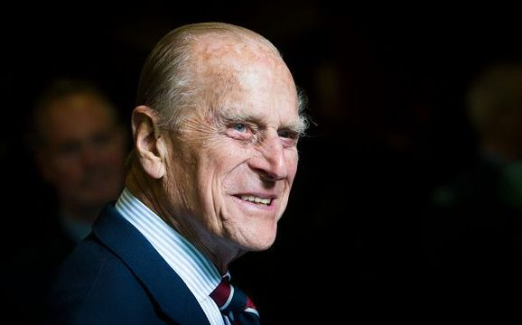 Prince Philip, Duke of Edinburgh smiles during a visit to the headquarters of the Royal Auxiliary Air Force\'s (RAuxAF) 603 Squadron on July 4, 2015 in Edinburgh, Scotland. (Photo by Danny Lawson - WPA Pool/Getty Images)