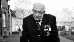 Happy Birthday Colonel Tom Moore! A British national treasure.