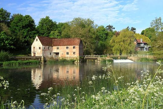 TheSturminster Newton Mill, on the banks of the River Stour, in Dorset County.