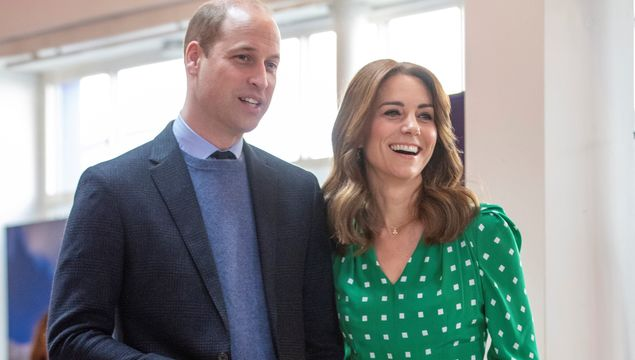 Prince William and Duchess Catherine (Kate Middleton).