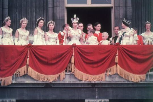 Queen Elizabeth\'s coronation