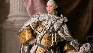 A portrait of King George II on his coronation day, by Allan Ramsay.
