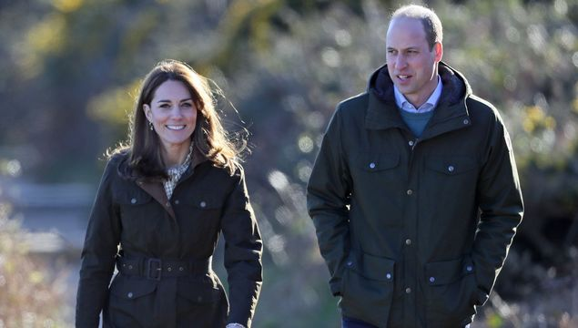The Duchess and Duke of Cambridge, Kate Middleton and Prince William.