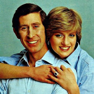 Prince Charles and Princess Diana.
