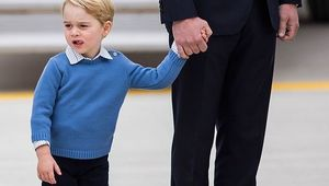 The son of Prince William and Kate Middleton, Prince George.