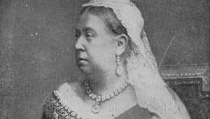 Queen Victoria (1819 - 1901).