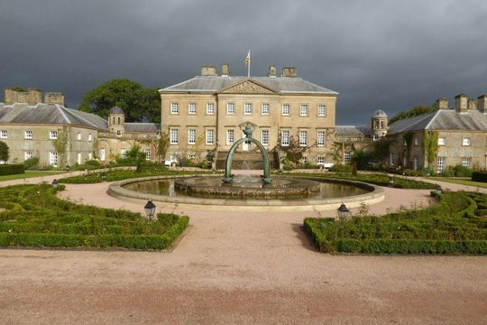 Dumfries House in Ayrshire, Scotland.