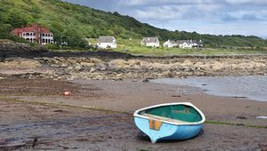 Drimla Lodge, on the shores of Kildonan, Isle of Arran.