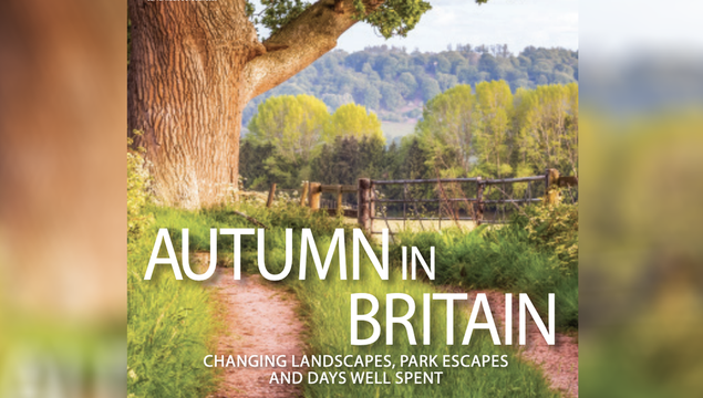 The cover of the Sept / Oct 2020 issue of British Heritage Travel.