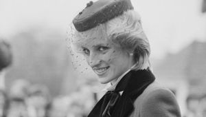 The late beloved Princess of Wales, Princess Diana.