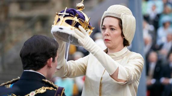 Olivia Coleman as Queen Elizabeth II, in The Crown