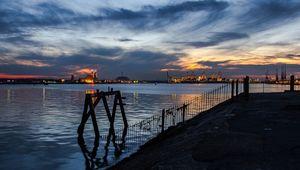 Southampton Port.