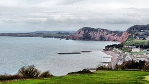 Thumb view over sidmouth devon via becks cc