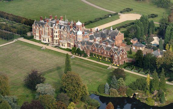 Sandringham House and Estate, in Norfolk.