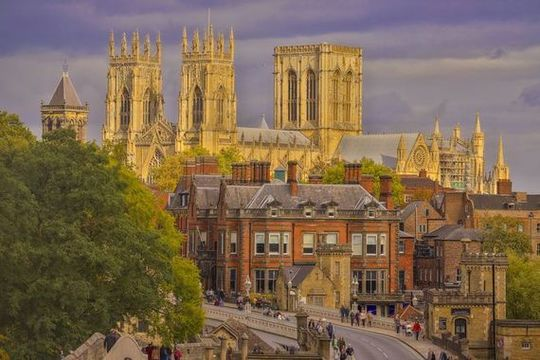 The beautiful historic city of York.