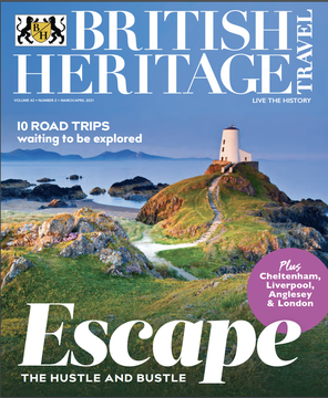 British Heritage Magazine\'s March / April 2021 cover.