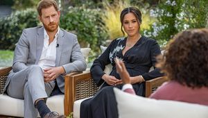 Harry and Meghan\'s interview with Oprah Winfrey.