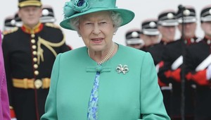 Queen Elizabeth II during her 2011 trip to Ireland.