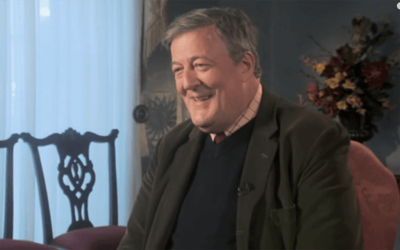 Author, actor and national British treasure, Stephen Fry